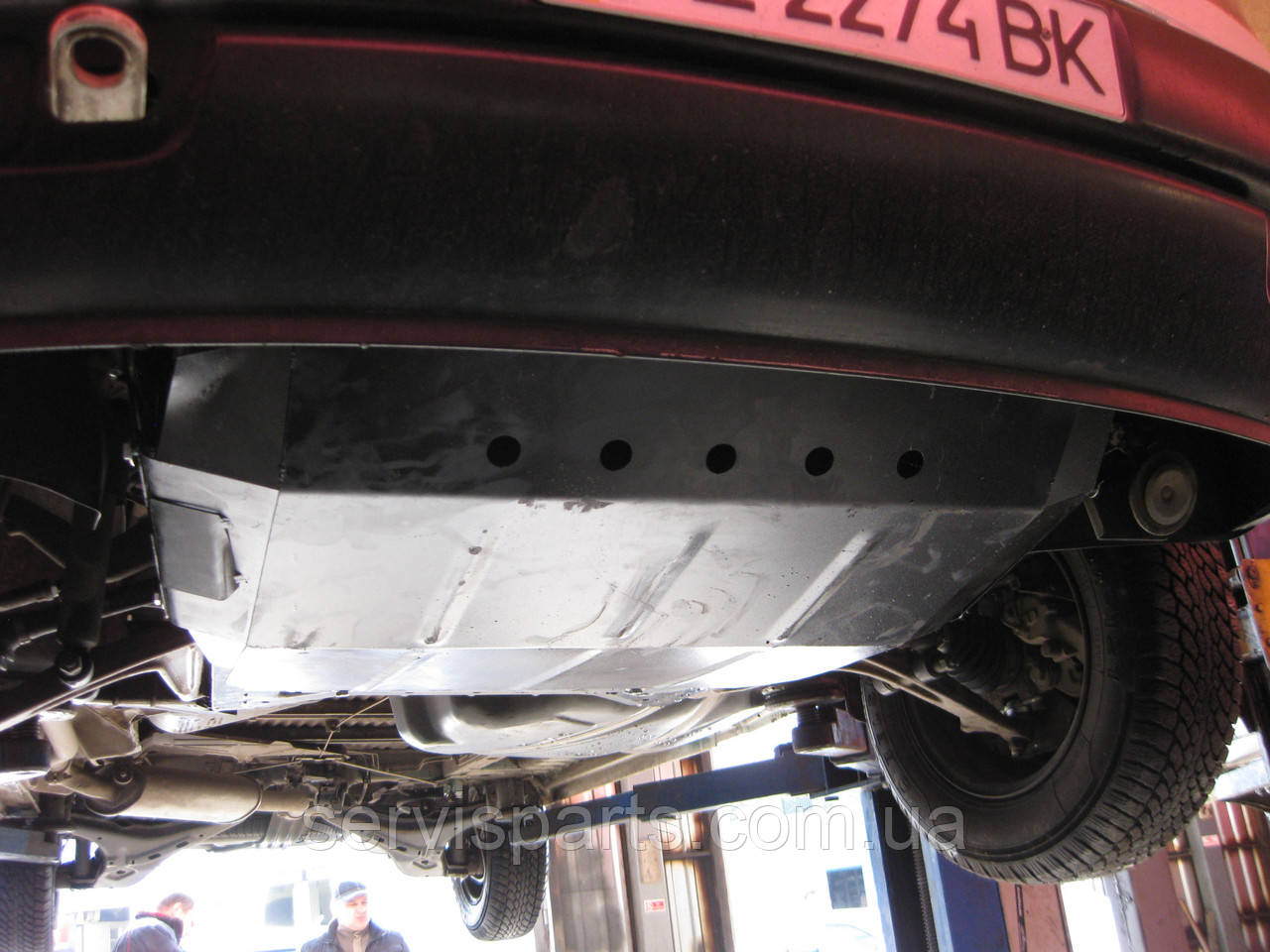Защита двигателя Volkswagen Transporter T4 1990-2003 (Фольксваген Транспортер Т4)