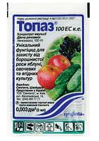 Фунгицид Топаз 3мл) - защита семечковых, косточковых, ягодных, овощных, декоративных культур от болезней.