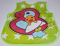 Слюнявчик - фартук из пвх для детей 8