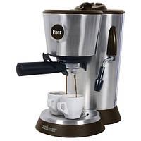 Рожковая кофеварка эспрессо Zelmer 13Z014 Brown (ZCM2052B)