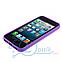 Чехол прозрачный для Apple iPhone 5, 5S Сиреневый, фото 3