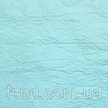 Подарочная бумага жатая (3) светло-голубая