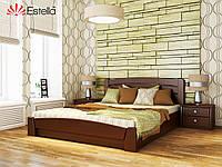 Двухспальная кровать деревянная Селена Аури (Бук) массив. Оригинал