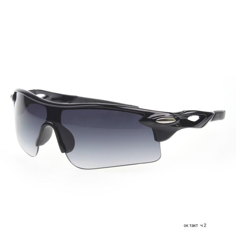 Тактические стрелковые очки черные Ч2