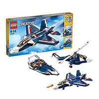 Lego Creator Синий реактивный самолёт 31039