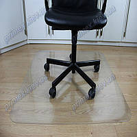 Ковер под кресло для защиты пола прозрачный 80х125см. Толщина 0,6мм