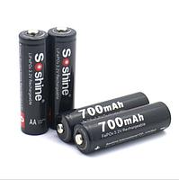 Аккумулятор LiFePO4 Soshine 14500 (AA) 3.2V 700mAh