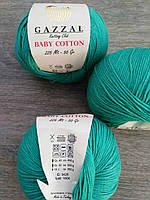 Gazzal Baby Cotton - 3426 изумруд