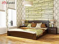Двухспальная кровать деревянная Селена Аури (Бук) щит. Оригинал
