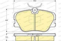 Колодки тормозные передние дисковые Mercedes w201/w124/c124 /w123 209410070100 Breck