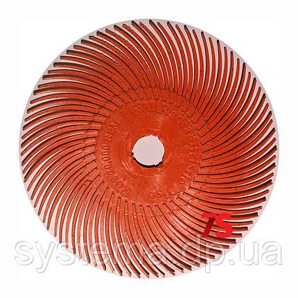 Радиальный круг Scotch-Brite™ Bristle RB-ZB 51мм х 9.5мм P220 красный, фото 2