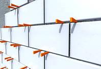 Клинья для плитки 25, 32, 40 мм. Белые