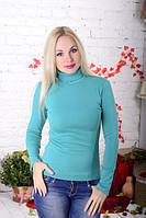 Водолазка женская нежная лазурная., фото 1