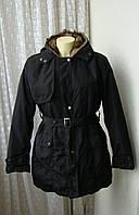 Куртка теплая с меховой подстежкой р.44 7376