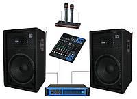 Комплект Sound Division DJ15KAR3 звукового оборудования для караоке, мощность 700Вт