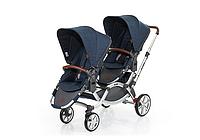 Детская прогулочная коляска для двойни ABC Design Zoom 2017