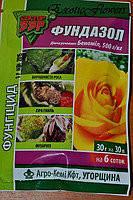 Фунгицид Фундазол (30г) - профилактика грибковых болезней растений, защита роз.