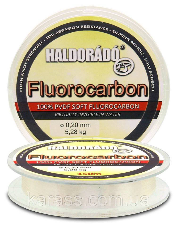 Поводочная леска HALDORÁDÓ FLUOROCARBON 0,20 MM