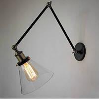 Настенно-потолочный светильник ( трехколенный ) [ LOFT style - A ] + лампa (ST-64 в компле