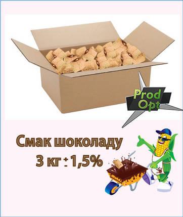 Кукуруздяні подушечки Супер Хруст шоколад вагові 3 кг , фото 2