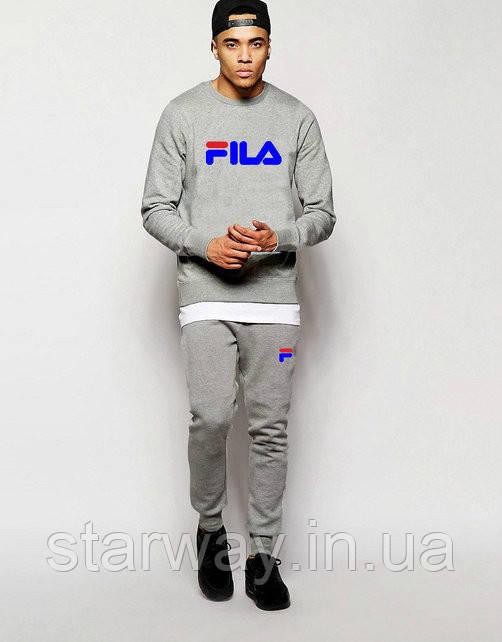 Спортивный стильный костюм fila | фила grey