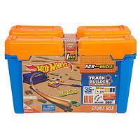 Игровой набор Хот Вилс Игра без границ Hot Wheels Track Builder Stunt Box DWW95