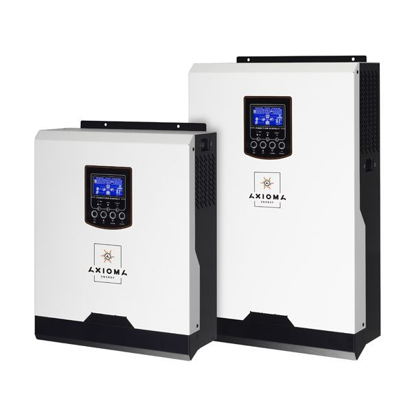 Автономный солнечный инвертор Axioma Energy 5000 ВА (4000 Вт), 220 В с ШИМ контроллером 50 А, ISPWM 5000