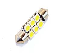 Автомобильная LED лампа Feston-5050-6SMD 12V 90L (36mm)
