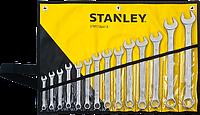 Stanley STMT73647-8 Набор комбинированных ключей, 8-19,22,24 мм, 14 шт