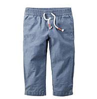 Детские джинсы на девочку  Carters на 9 мес,12 мес