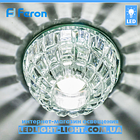 Врезной точечный светодиодный светильник Feron JD68 Cob Led 10W