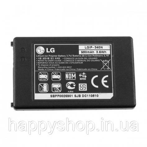 Оригинальная батарея для LG KS660 (LGIP-340N), фото 2