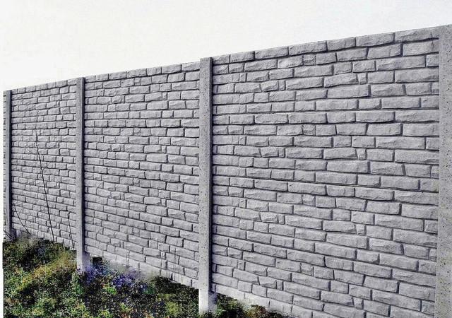 бетонные заборы в Одессе