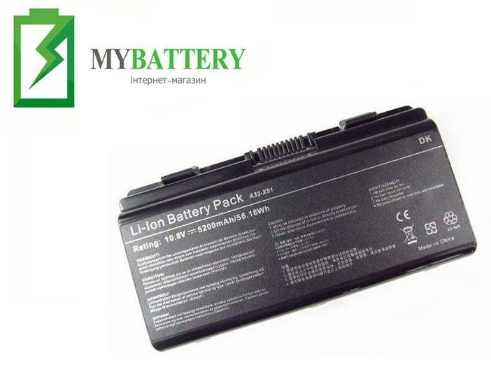Аккумуляторная батарея Asus A32-T12 X58 X58C X58L X58Le X51C X51H X51L