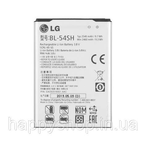 Оригинальная батарея для LG L90 Dual (BL-54SH), фото 2