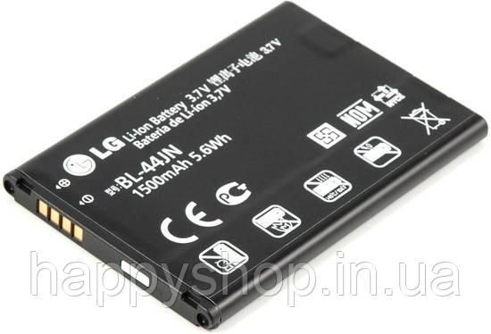 Оригінальна батарея для LG L5 (BL-44JN), фото 2