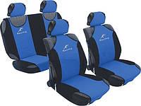 Майка полный комплект Racing 23088/3 сетка сине -черный полиэстер