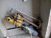 Алмазне свердління буріння отворів в стінах, стелях та фундаментах під кутом діаметрами до 352 мм