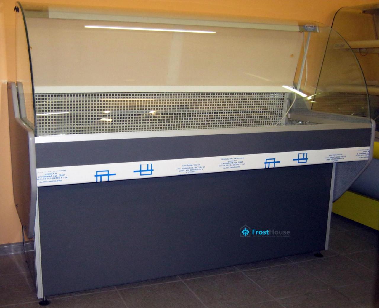 Универсальная витрина Garda 1.0 Freddo (холодильная) гнутое стекло