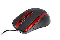 Мышь Havit HV-MS753, Black/Red, USB, 1000 dpi, 3 кнопки