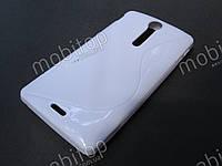 Полимерный TPU чехол Sony LT29i Xperia TX (белый), фото 1