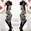 Женское платье с открытой спинкой. Оц-53-0117, фото 2
