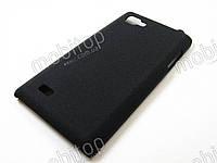 Пластиковый чехол LG Optimus 4X HD P880 (черный), фото 1