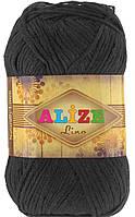 Alize Lino 60 черный