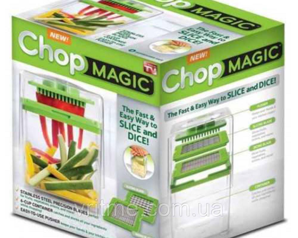 Овощерезка универсальная для овощей и фруктов Chop Magic