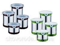 Набор баночек для сыпучих круп Peterhof PH-12417