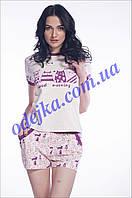 Домашний комплект, пижама женская LNP 065/001 (ELLEN). Коллекция весна-лето 2017! Спешите быть первыми!