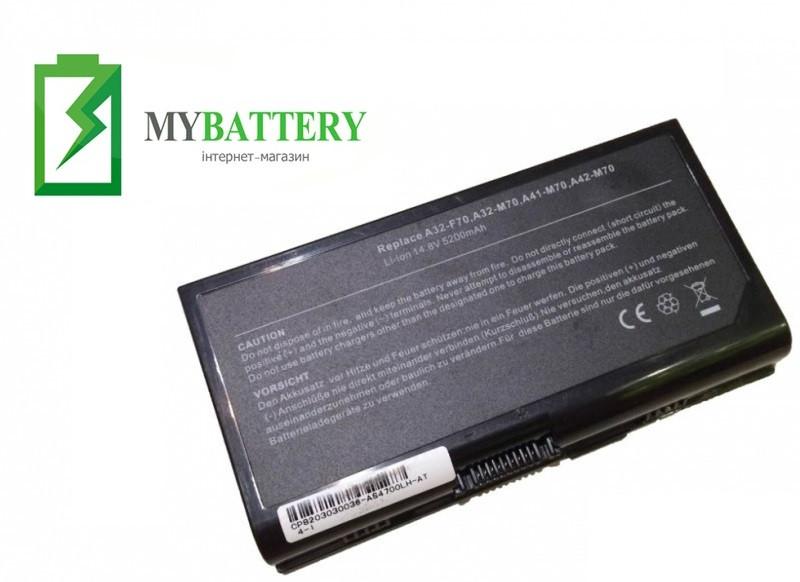 Аккумуляторная батарея Asus A32-F70 A32-M70 M70l M70s N70s M70t N90s