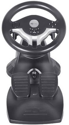 Игровой руль для ПК Gemix WFR-1, руль с педалями для компьютера, фото 2