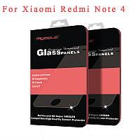 Защитное стекло MOCOLO для Xiaomi Redmi Note 4 черное полноэкранное